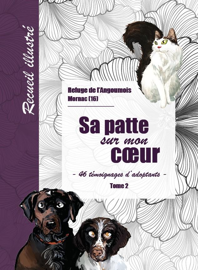 couverture du livre sa patte sur mon cœur - tome 2